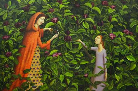 Helen Flockhart, 'Ceres and Proserpine', 2016