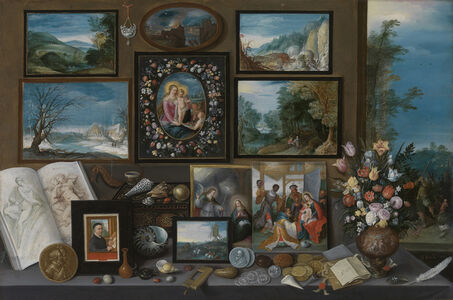 Frans Francken the Younger, 'A Collection', 1619