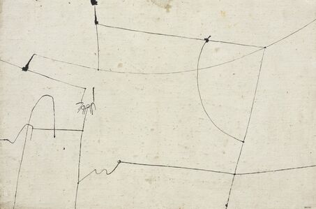 Alberto Burri, 'Copertina', 1953-1954