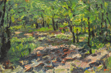 Aron Froimovich Bukh, 'Forest', 1991