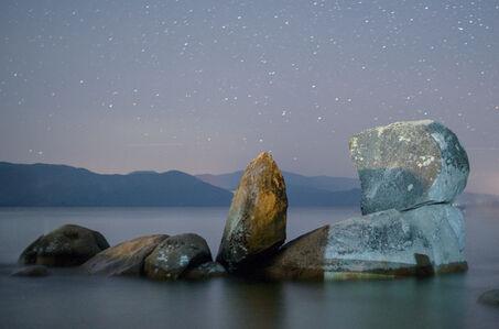LUCA MARZIALE, 'Night Rocks, Tahoe 2017'