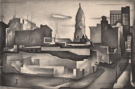 Benton Spruance, 'Changing City', 1934