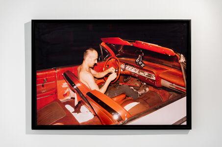 Nan Goldin, 'Bruce in his red car , NYC', 1981