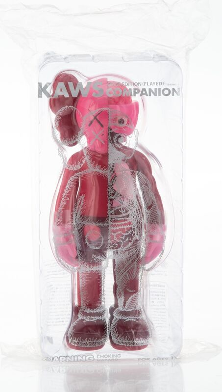 KAWS, 'Dissected Companion (Blush)', 2016, Sculpture, Painted cast vinyl, Heritage Auctions