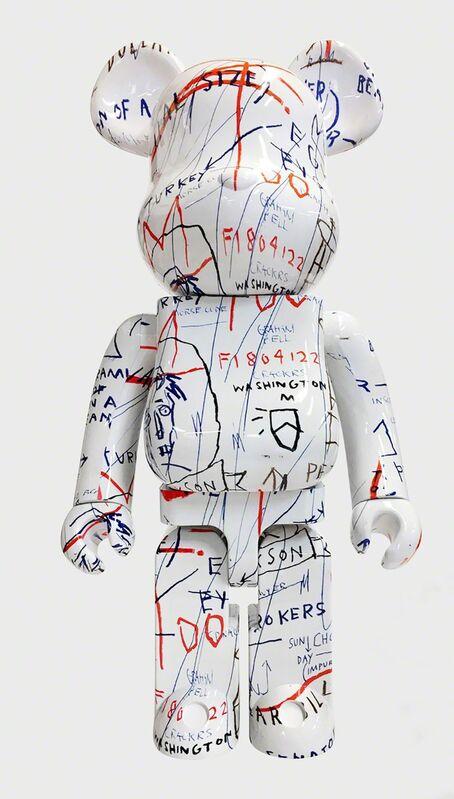 Jean-Michel Basquiat, 'Basquiat Bearbrick 1000% Companion (Basquiat BE@RBRICK)', 2018, Ephemera or Merchandise, Vinyl figure, Lot 180