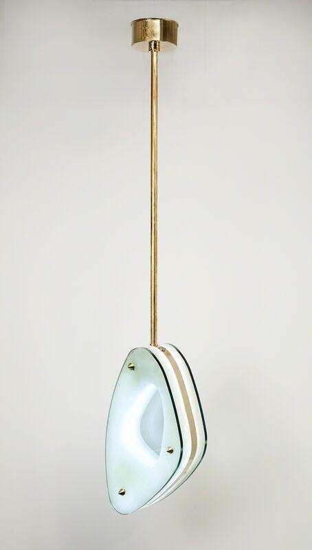 Achille Salvagni, 'Lens Fixture', 2013, Design/Decorative Art, Glass, onyx, bronze, LED lights, Maison Gerard