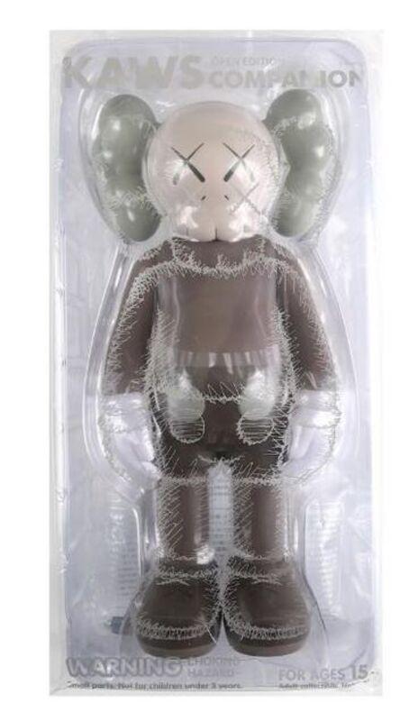 KAWS, 'Companion Brown', 2016, Sculpture, Vinyl toy, Lougher Contemporary