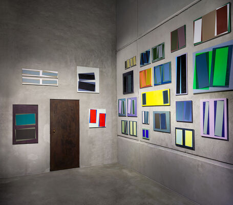 12 Rooms | JÖRG SCHEIBE: Room #3, installation view
