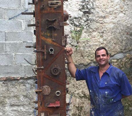 Tomás Núñez, installation view