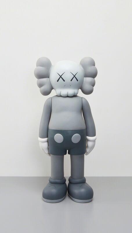 KAWS, 'Four Foot Companion (Grey)', 2007, Sculpture, Painted cast vinyl, Phillips