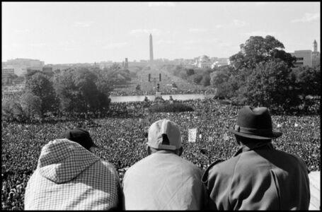 Eli Reed, 'Farrakhan demonstration. The Million Man March. Washington D.C. USA. ', 1995