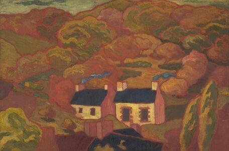 Armand Séguin, 'Two Thatched Cottages (Les deux chaumières)', ca. 1893-1894