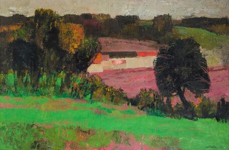 Bernard Cathelin, 'Automne au Breal', 1963