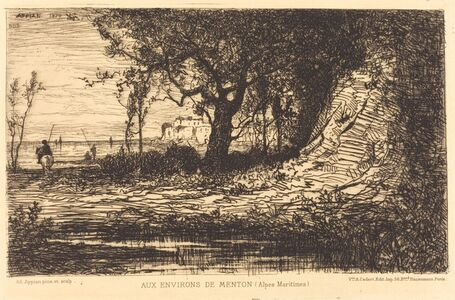 Adolphe Appian, 'Aux Environs de Menton'
