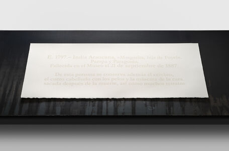 Cristina Piffer, 'Des / Inventory, E. 1797 | Des / Inventario, E. 1797 ', 2018