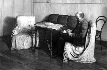 Kepa Garraza, 'Vladimir Lenin in Smolny', 2020