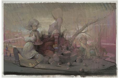 Lisa Yuskavage, 'Outliers III', 2012