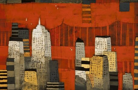 Paul Balmer, 'Manhattan Spires', 2013