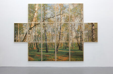 Ian Ginsburg, 'Forest near Moscow', 2017