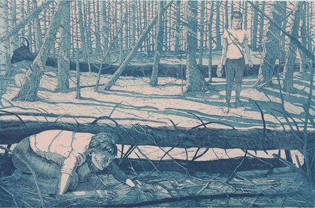 Tyler Bright Hilton, 'Later, she was lost. Of course she was lost. Why wouldn't she be lost? The woods were horrible. Group of seven my ass.', 2018
