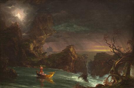 Thomas Cole, 'The Voyage of Life: Manhood', 1842
