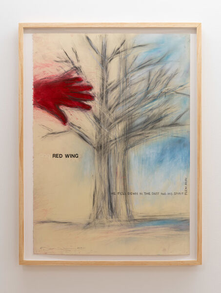 Terry Allen, 'Red Wing', 2019