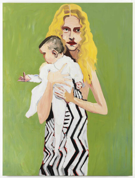 Chantal Joffe, 'BLONDE WITH A BABY', 2012