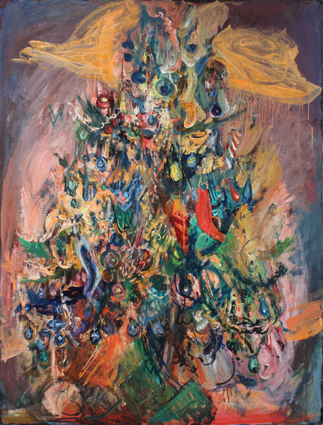 Hyman Bloom, 'Christmas Tree', 1983