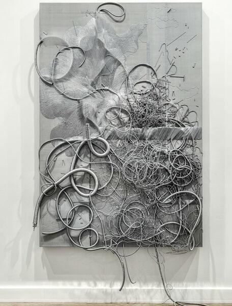 Lin Tianmiao, 'Black White Gray-Gray', 2013