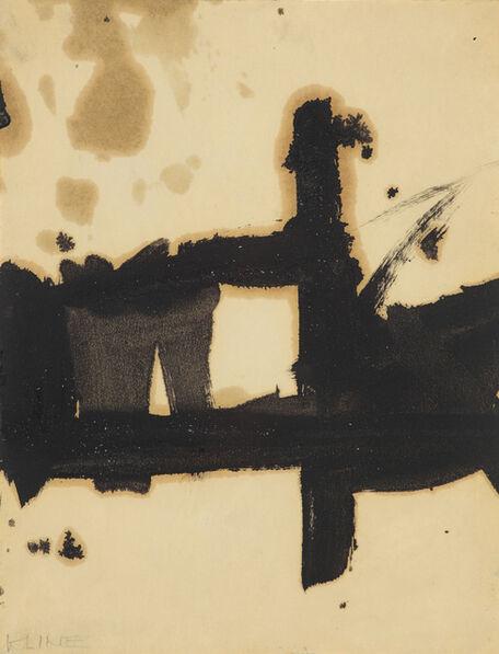 Franz Kline, 'Composition', 1957-1960