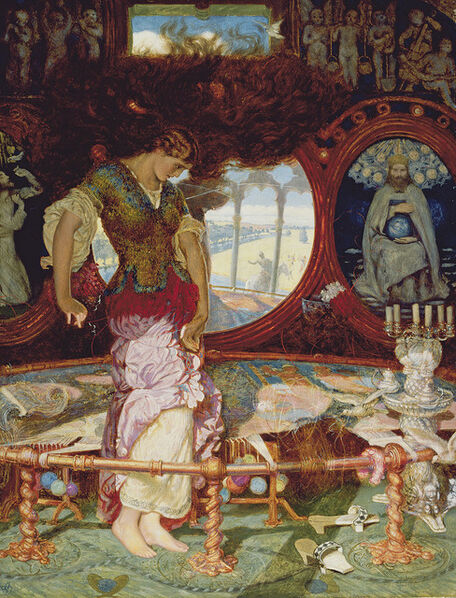 William Holman Hunt, 'The Lady of Shalott', 1886-1905