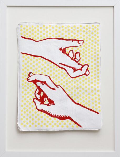Lauren Bartone, 'Crossed Fingers', 2014