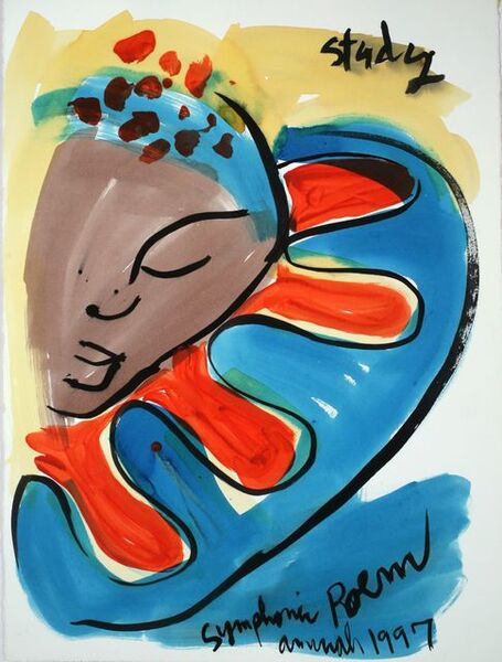 Aminah Brenda Lynn Robinson, 'Figure Studies for a Symphonic Poem 1', 1997
