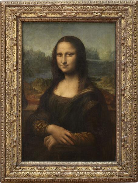 Leonardo da Vinci, 'Épouse de Francesco del Giocondo, dite Mona Lisa, ou la Joconde (Wife of Francesco del Giocondo, called Mona Lisa, or la Joconde)', 1503-1506