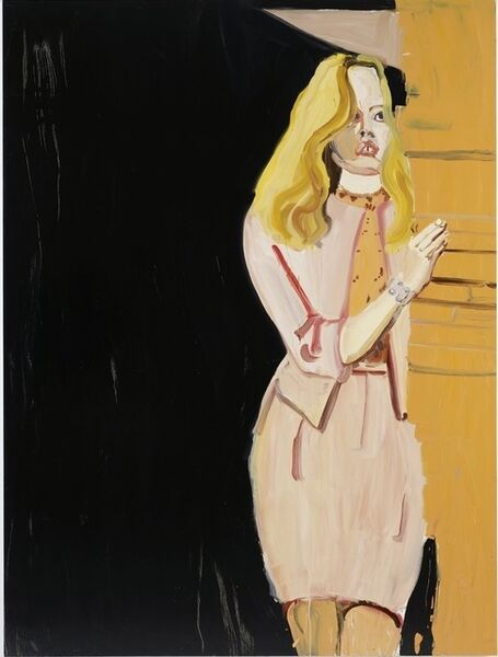 Chantal Joffe, 'Pink Suit', 2011
