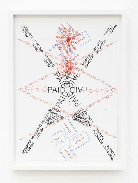 Amalia Pica, 'Joy in Paperwork 42', 2015