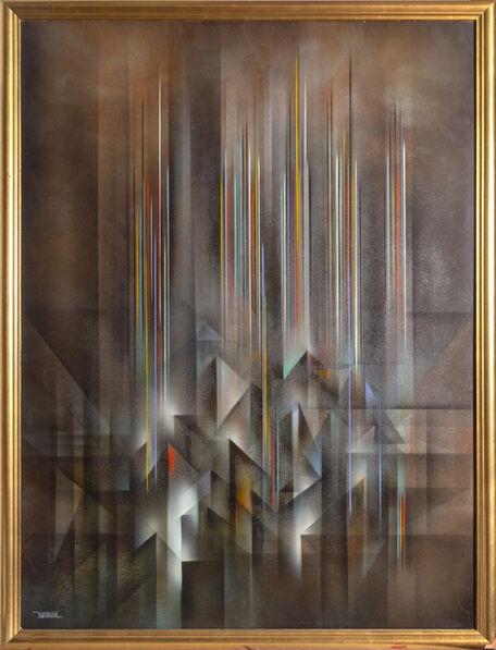 Leonardo Nierman, 'Ciudad Prismatica', 1980
