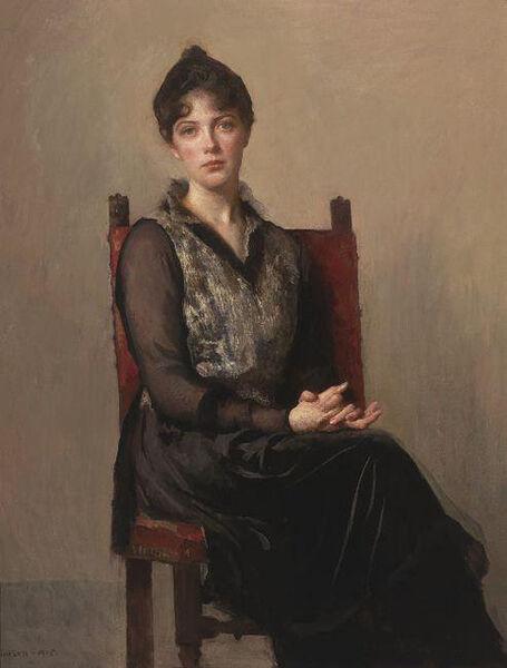 Edmund Charles Tarbell, 'My Daughter, Josephine', 1915