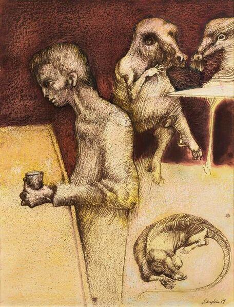 Jan Lebenstein, 'La boisson', 1974