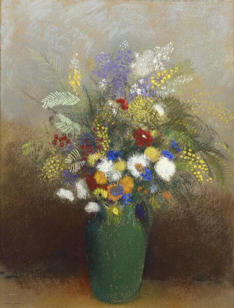 Odilon Redon, 'Bouquet de Fleurs', ca. 1900