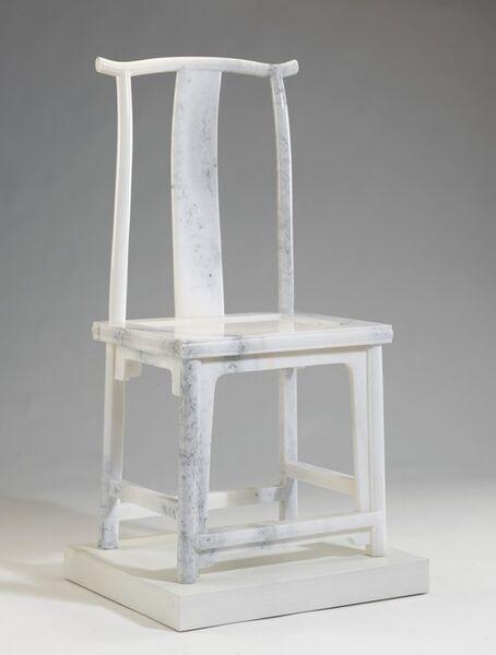 Ai Weiwei, 'Marble Chair', 2008