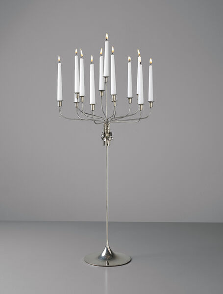 Tapio Wirkkala, 'Thirteen-branch candelabrum, model no. TW 412', designed 1969-produced 1971