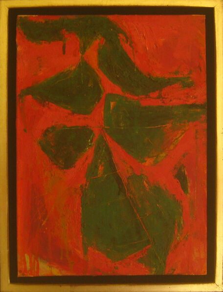 Fritz Bultman, 'Plant in Conservatory / Leaves for Muriel', 1953