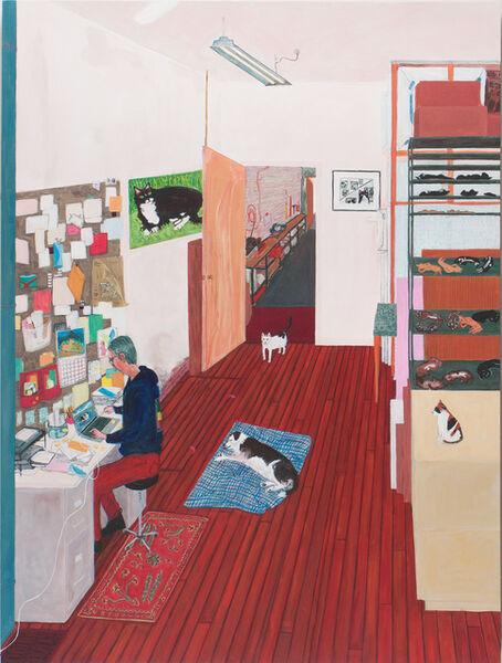 Sarah McEneaney, 'Office Work', 2016