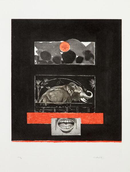 Graham Vivien Sutherland, 'The Elephant', 1979