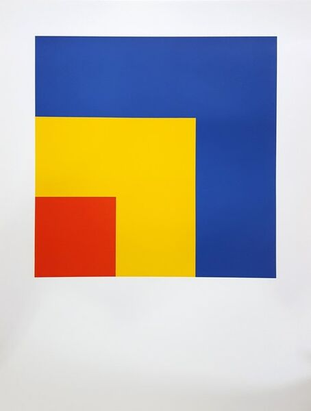 Ellsworth Kelly, 'Red, Yellow, Blue', 2005
