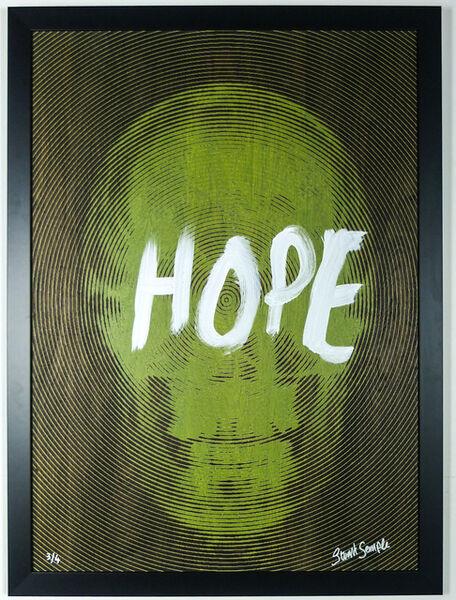 Stuart Semple, 'My Heaven is Inside (Yellow Hope)'