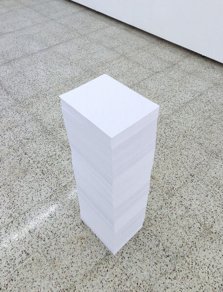 Aníbal Lopez, 'Straight Line (Linea recta)', 2013