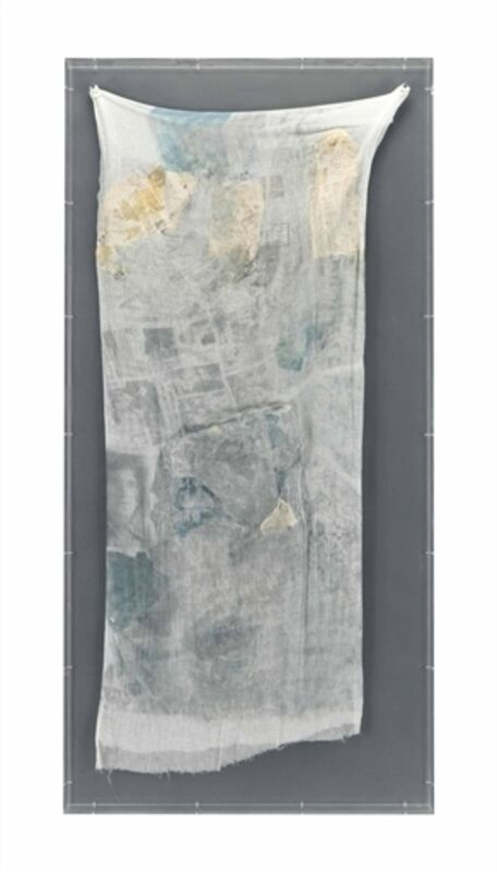 Robert Rauschenberg, 'Hoarfrost (Keeper)', 1974, Mixed Media, Paper collage and solvent transfer on fabric, Christie's
