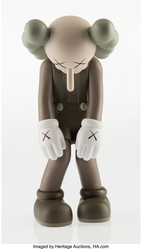 KAWS, 'Small Lie (Brown)', 2017, Other, Painted cast vinyl, Heritage Auctions